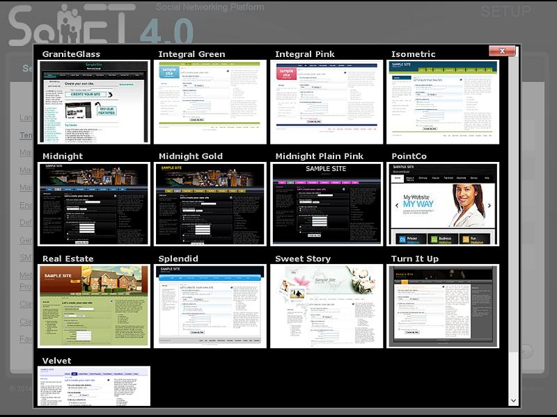The Root Template selector. This is what your customers will see when they visit your dot com. You c(..)